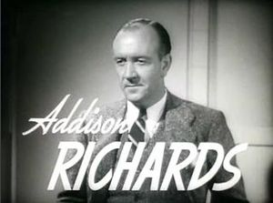 Addison Richards - Richards in the trailer for Nick Carter, Master Detective, 1939