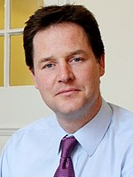 Photographie de Nick Clegg