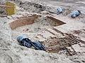 Nijmegen Plein 44 opgravingen 2011 resten ca. 1400 (1).JPG