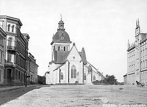 Elin Wallin - Image: Nikolaikyrkan 1870
