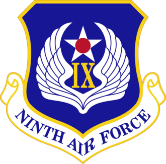 Ninth Air Force - Image: Ninth Air Force Emblem