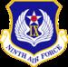 Novena Fuerza Aérea - Emblem.png