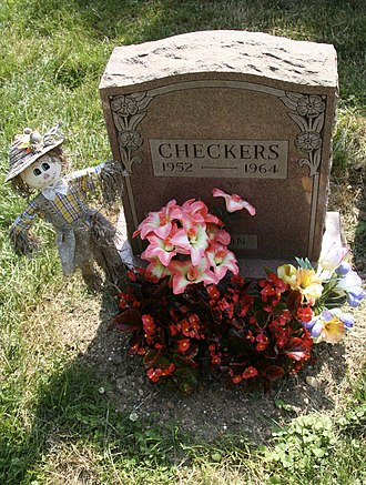 Wantagh, New York - Checkers' tombstone