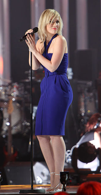 Natasha Bedingfield - Bedingfield at Nobel Peace Prize Concert in December 2009