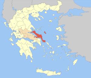 Euboea (regional unit) - Image: Nomos Evvias