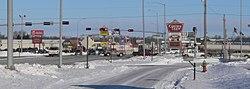 Norfolk, Nebraska-Omaha Ave x 13 St.JPG