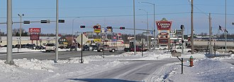 Norfolk, Nebraska - Image: Norfolk, Nebraska Omaha Ave x 13 St