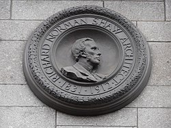 Norman Shaw plaque.JPG