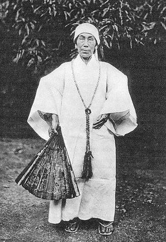 Noro (priestess) - A noro priestess in traditional clothes