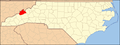 North Carolina Map Highlighting Madison County.PNG