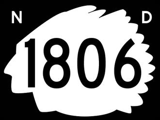 Morton County, North Dakota - Image: North Dakota 1806