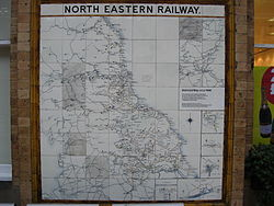 North Eastern Railway United Kingdom Wikipedia - 1920s north eastern us map