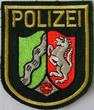 North Rhine-Westphalia Police - The NRW state police uniform patch