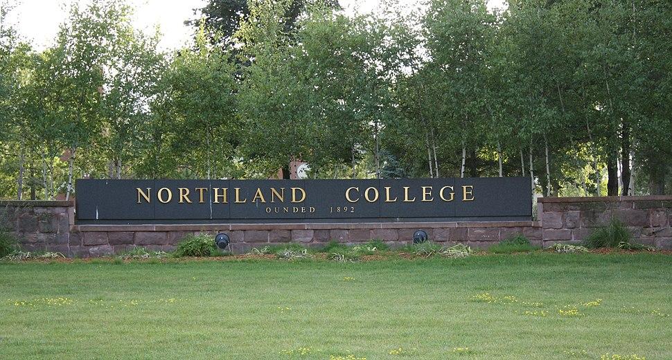 Northland College Sign Ashland Wisconsin