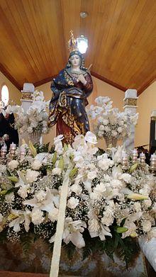 Nossa Senhora das Dores em Dores de Campos, MG.
