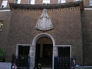 Notre Dame de France - Entrance to Notre Dame de France
