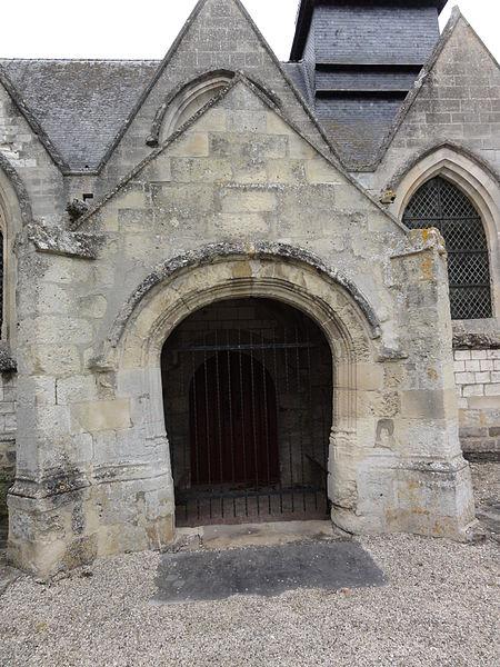 Nouvion-le-Comte (Aisne) église