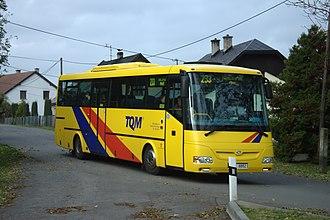 Nové Lublice - Image: Nové Lublice, autobus