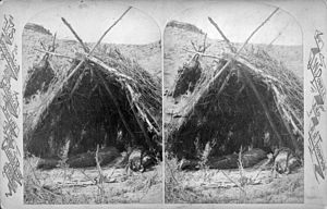 Wigwam - Paiute wickiup