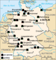 Nuclear power plants map Germany-fr.png