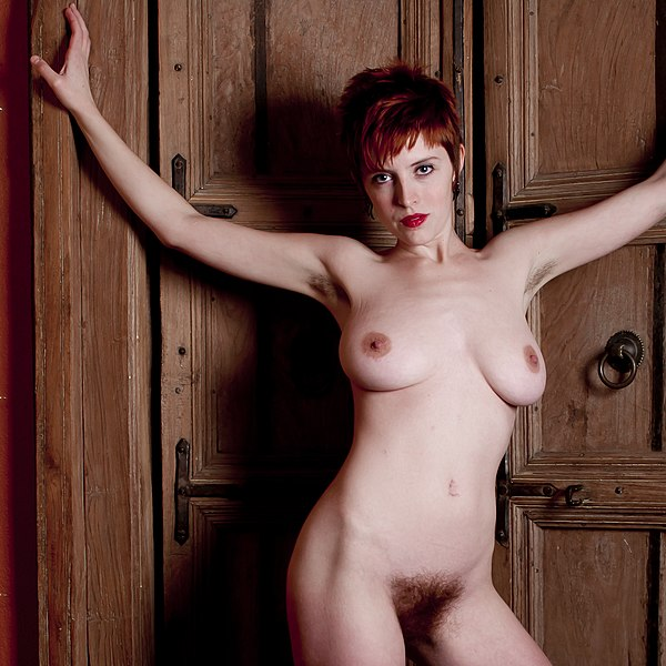 File:Nude redhead woman doorways.jpg