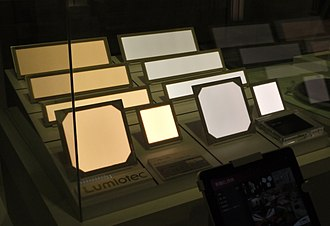 OLED - Prototype OLED lighting panels
