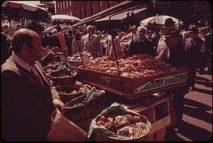 Frederick C. Langone - Haymarket vendors in 1973.
