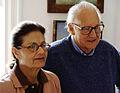 O casal instituidor da Fundação Stickel, Martha Diederichsen Stickel e Erico João Siriuba Stickel, em foto de Fernando Diederichsen Stickel de 15 Abril 2003.jpg