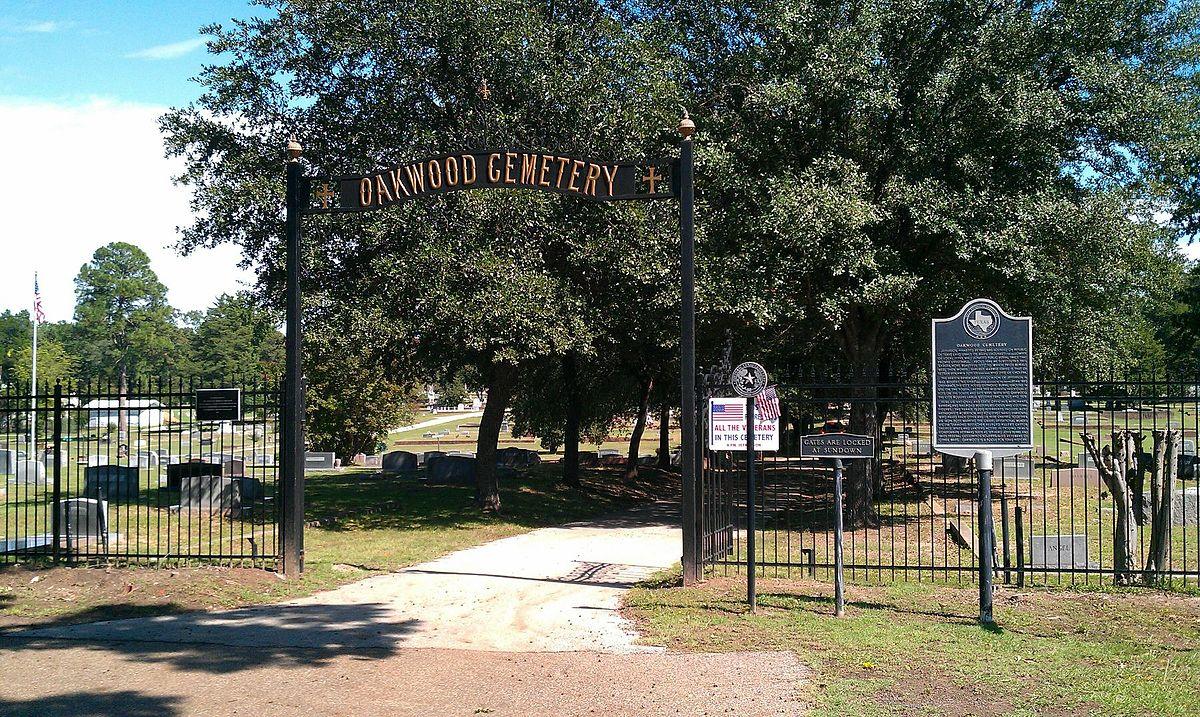 Oakwood cemetery jefferson texas wikipedia for The oakwood