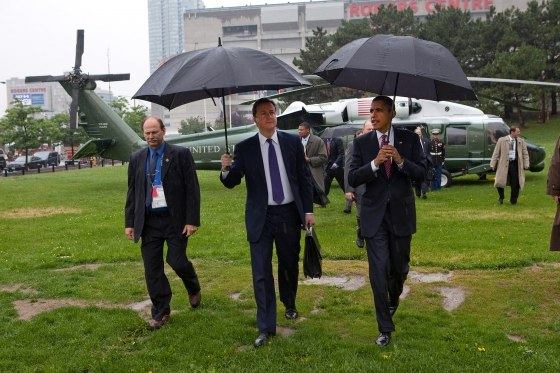 Obama and Cameron in Toronto 2010