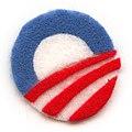 Obama logo in felt (3183393810).jpg