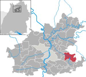 Obersulm - Image: Obersulm in HN