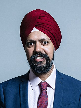 Tanmanjeet Singh Dhesi - Official Parliamentary portrait, June 2017