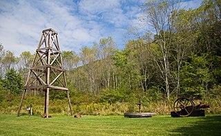 Oil Creek State Park Former oilfield in Pennsylvania