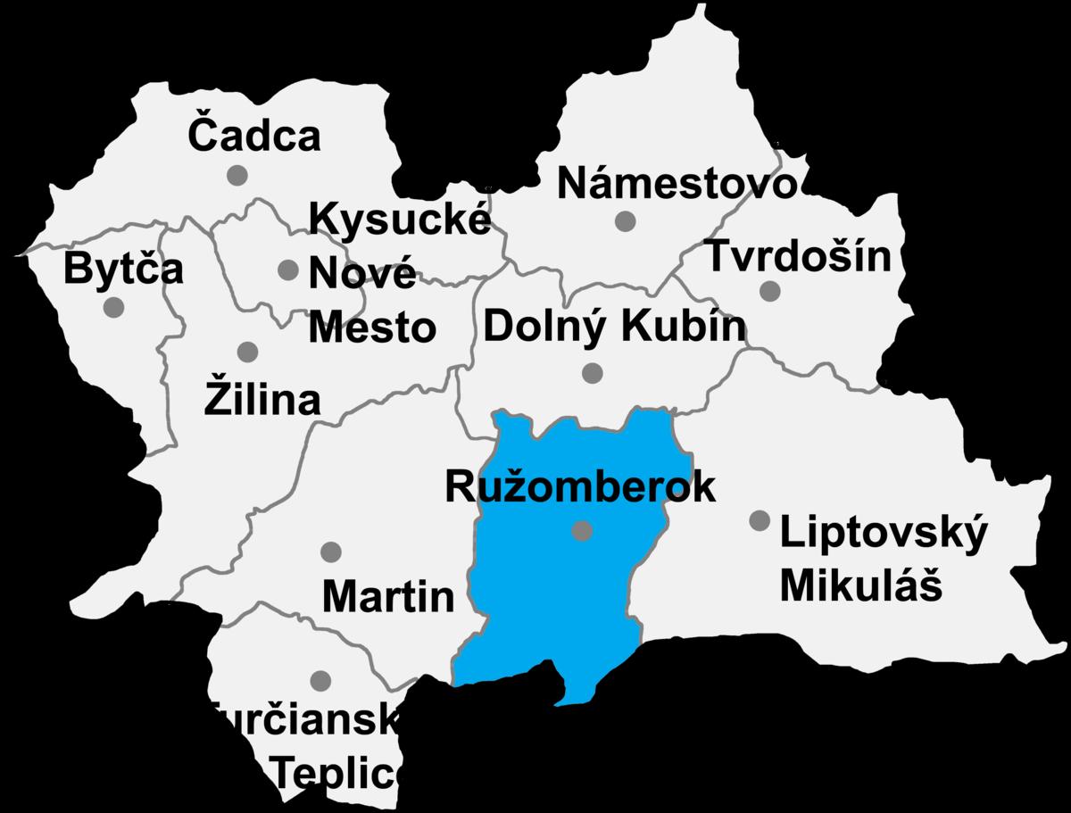 Bildergebnis für Ružomberok mapa