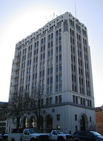 Salem, Oregon - Capitol Center in downtown