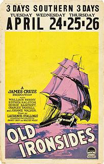 <i>Old Ironsides</i> (film) 1926 film by James Cruze