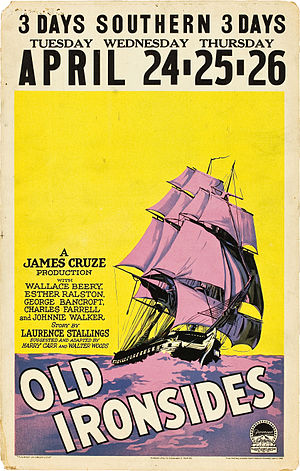 Old Ironsides (film) - Film poster