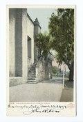 Old Stairway - San Gabriel Mission, San Gabriel, Calif (NYPL b12647398-67878).tiff
