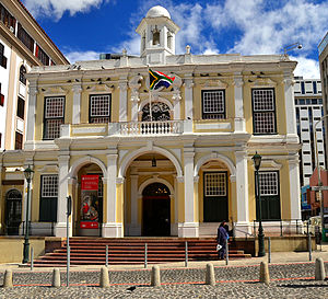 Greenmarket Square - The Old Town House on Greenmarket Square is the best known building on the square and one of the oldest buildings in South Africa.  It also houses the Michaelis Collection.