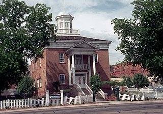 Old Washington County Courthouse (Utah) United States historic place