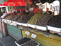 Olive stall at Sheshi Avni Rustemi 3.jpg