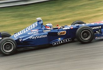 Olivier Panis - Panis driving for the Prost Formula One team in Montreal in 1998
