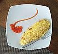 Omelette with Gajah Oling motif souce dressing.jpg
