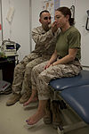 On pins and needles, Navy doctor branches out with deployment medicine 131213-M-ZB219-022.jpg
