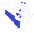Općine u kojima je pobijedila Borjana Krišto, opći izbori 2010.png