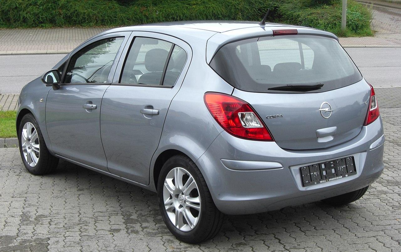 File Opel Corsa D 1 2 Rear 1 Jpg Wikimedia Commons