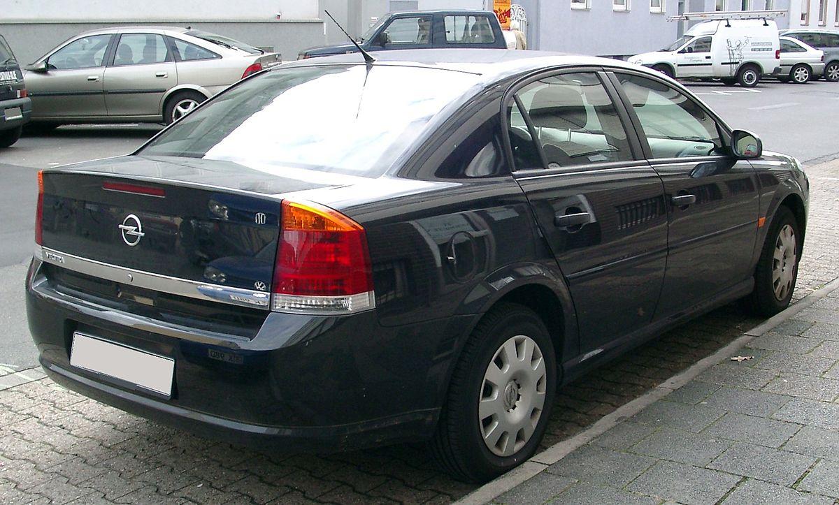 File Opel Vectra Rear 20070926 Jpg Wikimedia Commons