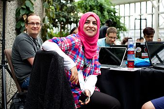 Opening of the Wikimania 2014 Hackathon 07.jpg