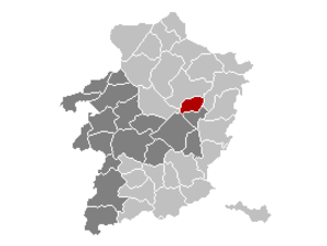Opglabbeek - Image: Opglabbeek Limburg Belgium Map
